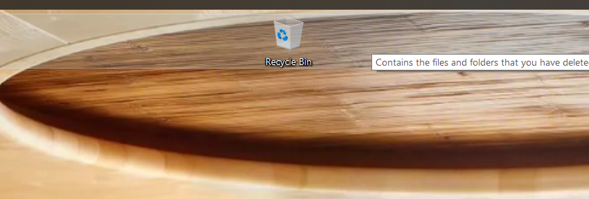 Windows 10 Desktop - Icons Stuck at Top of Screen ...